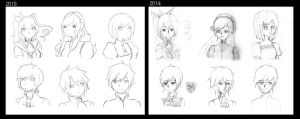 Supremacy - 2014 to 2015 by queen-val