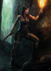 Tomb Raider contest entry by SalvadorTrakal