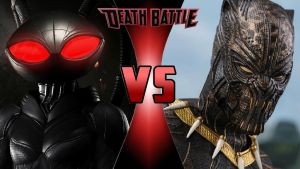 Black Manta vs. Killmonger by OmnicidalClown1992