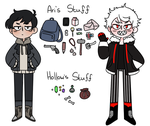 Ari And Hollow Ref by TheHoneybird