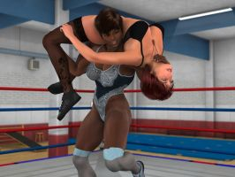 Vanessa Hunter vs Larien Parker 4A by PhoenixCreed