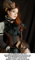 Steampunk Aristrocrat Lady Stock 002 by MADmoiselleMeliStock