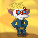 Heimerdinger by therandomyordle