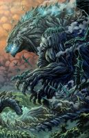 Planet of Godzilla by KaijuSamurai