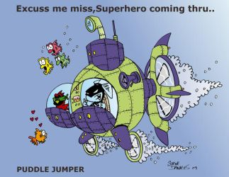 Puddle Jumper by THEDARKHOPPER