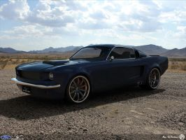 67 Fastback Custom by AfroAfroguy