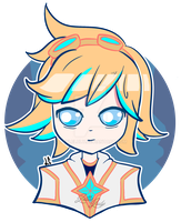 Ezreal Star Guardian by LittleLuly