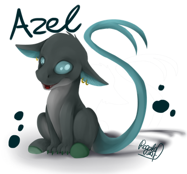 [Gift] Azel the Chimera by Julunis14