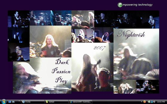Nightwish Collage by DruidElf