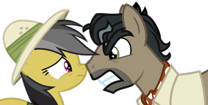 Daring Do Vs Cabelleron by Uponia