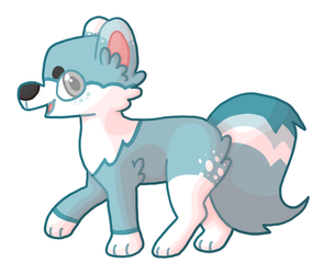 Much Bloo Such Wow by imaginejuice