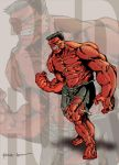 9 Red Hulk by ParisAlleyne