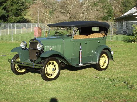 1930 Model A Phaeton by MichellesParanormal