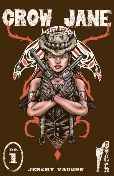 Crow Jane: In the Season of Revenge cover by RevolverComics