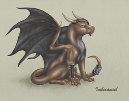 Baby Director Fury Dragon by Imbecamiel