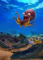 Octopus by Azot2018