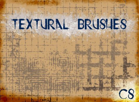 Textural Brushes by ElizavetBrushes