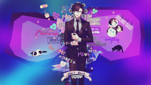 Wallpaper [ Jumin Han ] Mystic Messenger by lKoizumil