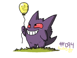 #094 Gengar by SaintsSister47