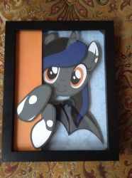 Etch-a-Sketch Shadowbox by valleyviolet