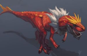 Fanart Friday - Tyrantrum!