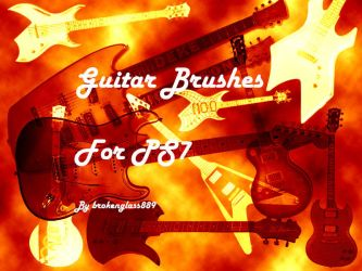 guitar brushes by RealLifeSuicideBlond