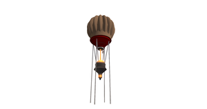 Second Life Export - Prim Modeled - Mini Balloon by Fesothe