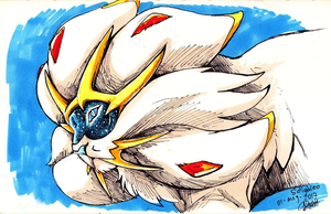 Daily drawings : Solgaleo