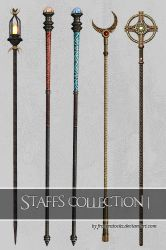 UNRESTRICTED - Staves Collection 1 by frozenstocks