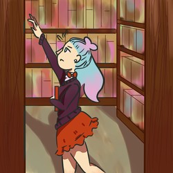 Searchin' for a Book by Katchat26