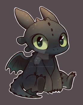 Toothless by AlexDasMaster