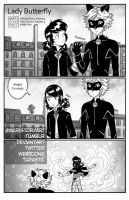 LadyButterfly Page One (chapter4) by MariStoryArt