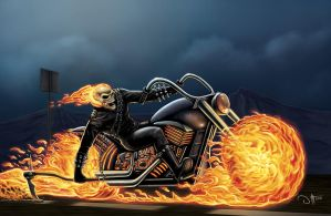 GHOST RIDER by DAVID-OCAMPO
