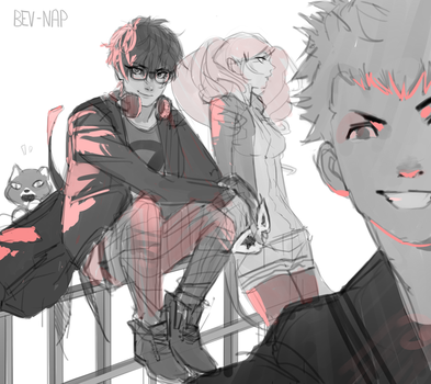 P5 Gang by Bev-Nap