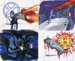 marvel Universe sketch cards33 by TomKellyART