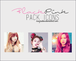 BlackPink - Icons by mayradias