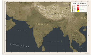 India and Indochina for TGW by Arminius1871