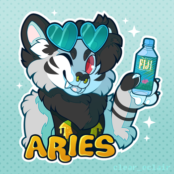 [Badge]  Aries by transparant