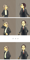 Sherlock - A little argument they had by zzigae
