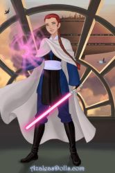 Jedi Gwen tennyson by TactfullFob014