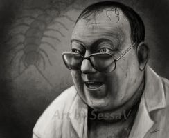 The Human Centipede II - Martin Lomax by SessaV