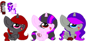 OC Ship Foals for RessurectedNightmare by MadWhovianWithABox
