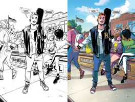 Archie 01 - Meet the new Archie (colorist sample) by herms85
