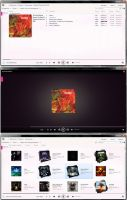 WMP12 Zune Theme by Ellunare