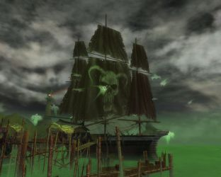 Guild Wars - Pirate Ship by MusingStar