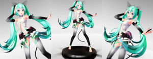Miku loves to dance by MaiCroft