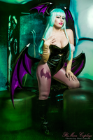 Morrigan Cosplay : Darkstalkers by plu-moon