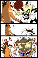 Accursed Bandicoot! by Project00Wolfen