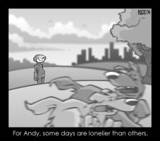 Andy Has a Lonely Day by deaddays