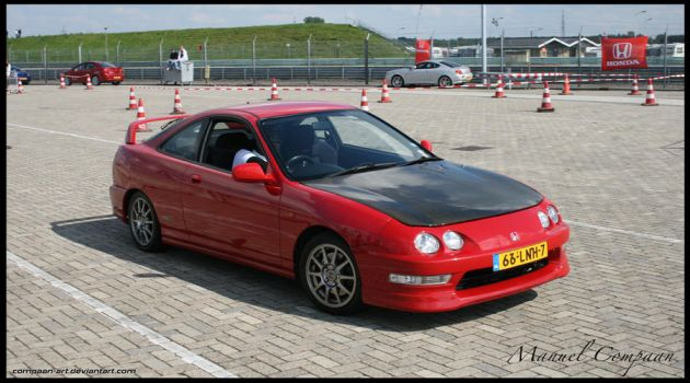 2000 Honda Integra Type R by compaan-art